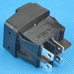 Push Type Black Rocker Switch T125 55 pictures & photos
