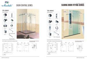 Stainless Steel Folding Door Accessories /Glass Door Clamp D-8700A-10 pictures & photos