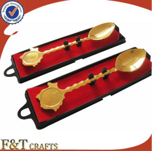 Fashion High Quality Metal Spoon (FTSP1501A) pictures & photos