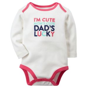 Fashion Cute Infant Clothes Pure Cotton White Girl Baby Romper pictures & photos
