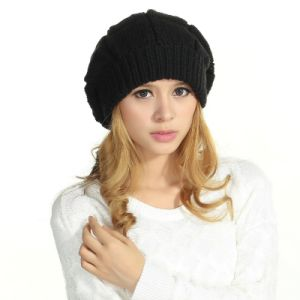 100% Wool Crochet Berets Beanie Hats pictures & photos