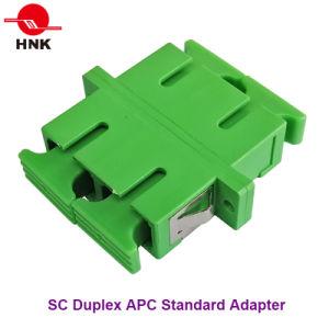 Sc Duplex Singlemode, Multimode, Om3 and APC Fiber Optic Adapter pictures & photos