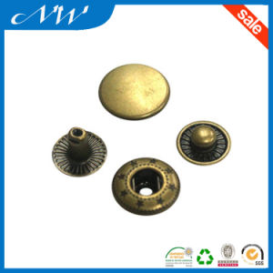 Anti-Brass Metal Snap Button with High Quality