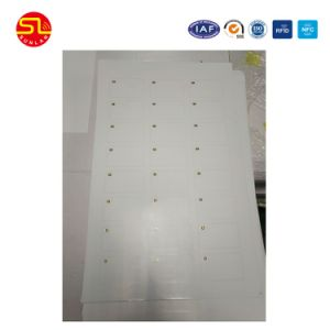 Wholesale Price Customized Layout Dual Interface Smart Card Inlay Sheet pictures & photos