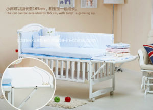 Hot Selling Wooden Baby Crib Nice Style Baby Crib Baby Bed (M-X1022) pictures & photos