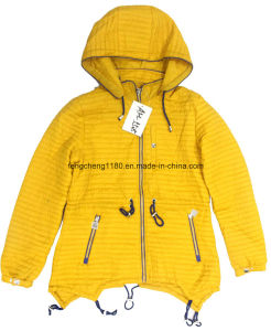 Ladies Spring/Autumn Light Jacket with Hooded pictures & photos