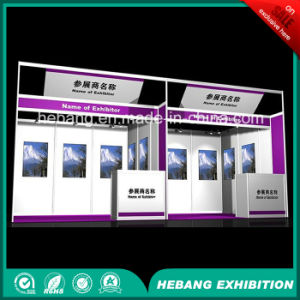 Hb-L00011 3X3 Aluminum Exhibition Booth pictures & photos