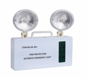 High Quality COB LED Emergency Double Spot Light pictures & photos