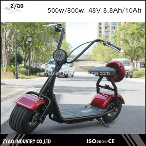 800W Mini Harley Electric Scooter with Big Tyre Ce Approval pictures & photos