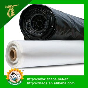 Manafacture Direct Supply Black LDPE Film with Hole pictures & photos