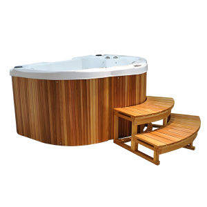 4 Seats 25 Jets 9 LED Jacuzzi with Balboa System pictures & photos
