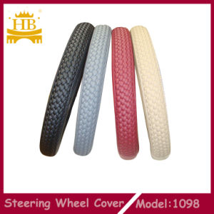 PU Knitted Car Steering Wheel Covers
