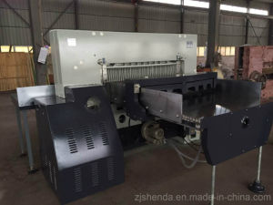 Full Automatic Computeried Hydraulic Guillotine (SQZ-115CTN KD) pictures & photos