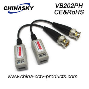 Single Channel Passive HD-Cvi/Tvi/Ahd Balun for CCTV (VB202pH) pictures & photos