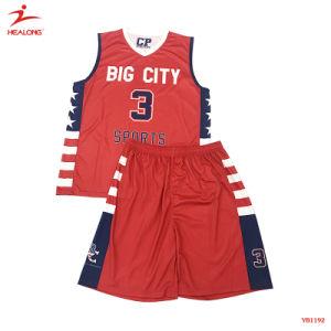 Healong Full Sublimation Basketball Uniform pictures & photos