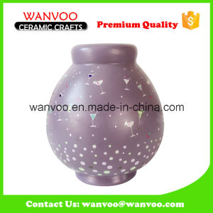 Ceramic Hand-Painted Storage Jar for Christmas Wedding Decoration pictures & photos
