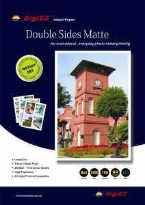 A4/R4 Waterproof Double Sided Matte Photo Paper 220g for Inkjet Printer pictures & photos