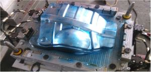 SMC Plastic Pressure Compression Mould for Engine Lower Protect Panel