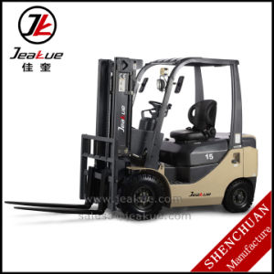 German Quality 1.5t Counterbalance Diesel Forklift Price pictures & photos