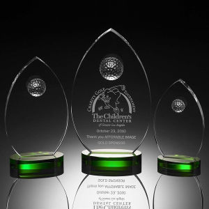 Arrow Crystal Golf Award (#4018, #4019, #4020) pictures & photos
