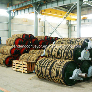 Steel Pulley / Rubber Pulley / Belt Pulley / Conveyor Drive Pulley pictures & photos