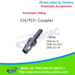Direct Way Pneumatic Fitting / Coupler (CH2-8*5) pictures & photos