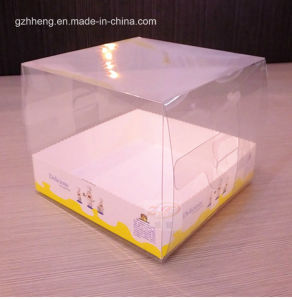 Wedding Birthday Cake Packing Boxes with Window(plastic clear box) pictures & photos