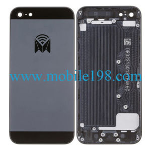 Original New Housing Middle Back Cover for iPhone 5 Black Parts pictures & photos