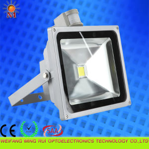 Ce/RoHS/SAA /Water Proof/ 30W LED Flood Light with Motion Sensor pictures & photos