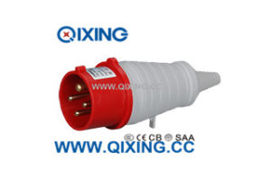 IEC Best Selling 16A 4p Red/Gray PVC Tail Industrial Plug pictures & photos