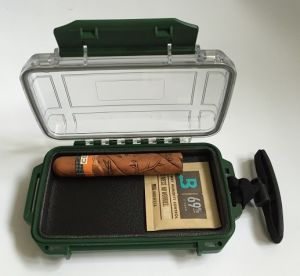 All Weather Waterproof Cigar Packaging Box Electronic Cigarette Case