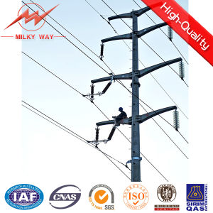 90FT Polygonal Octagonal Electric Pole pictures & photos