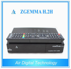 New Product Zgemma H. 2h DVB-S2+T2/C Satellite Receiver pictures & photos