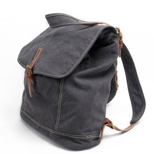 Washed Canvas Backpack Travel Girl Rucksack (RS-21101A) pictures & photos