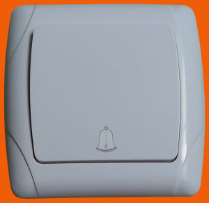EU Style Flush Mounting Wall Light Doorbell Switch F3006 pictures & photos
