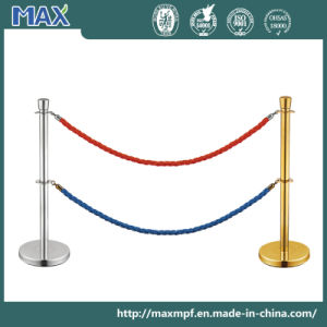 Stainless Steel Dual Ropes Stanchion pictures & photos