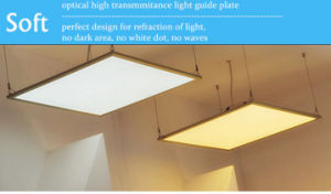 High Transmittance 42W 600X600mm Recessed LED Square Panel Light for Office Lighting pictures & photos