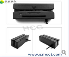 China Magnetic Stripe Card & IC Card Reader Combo--Hcc100 pictures & photos