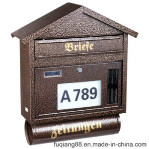 Fq-131 Modern Design Newspaper Holder Mailbox pictures & photos