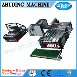 Automatic Non Woven Bag Cutting and Sewing Machine Cement Bag pictures & photos