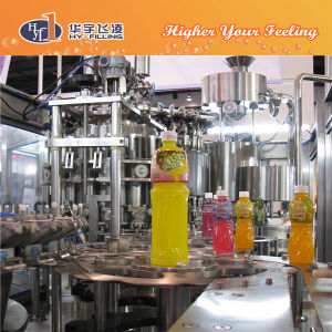 Hy-Filling Flavor Milk Hot Filling Equipment pictures & photos