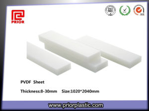 Good Sliding Resistance PVDF Plastic Sheet pictures & photos