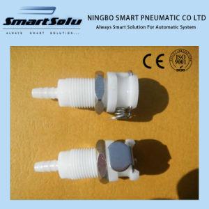 "1/8"" POM NBR Liquid Plastic Quick Connect Coupler Body pictures & photos"