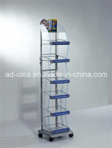 Hot Sale Rotatable Six Layers Acrylic Exhibition Stand/Multipurpose Exhibition Stand pictures & photos