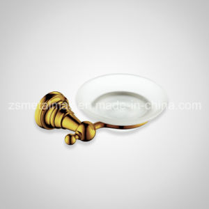 Stainless Steel Bathroom Wall Glass Soap Dish Holder (FZT001) pictures & photos