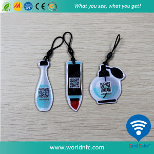 OEM Customized ISO14443A 13.56MHz Ntag213 NFC RFID Epoxy Tag pictures & photos