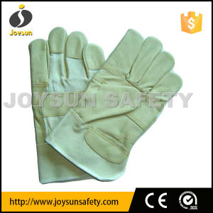Leather Working Glove Industrial Safety Rigger Gloves (FWL4)