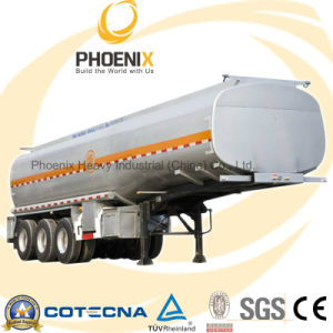 35tons 20cbm Tri-Axle Sulfuric Acid Tank Semi Trailer pictures & photos