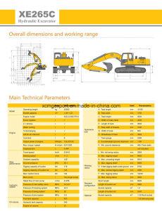 XCMG Xe265c 25ton Crawler Excavator pictures & photos