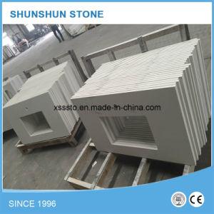 Pure White Artificial Countertop Starlight Quartz Stone for Kitchen pictures & photos